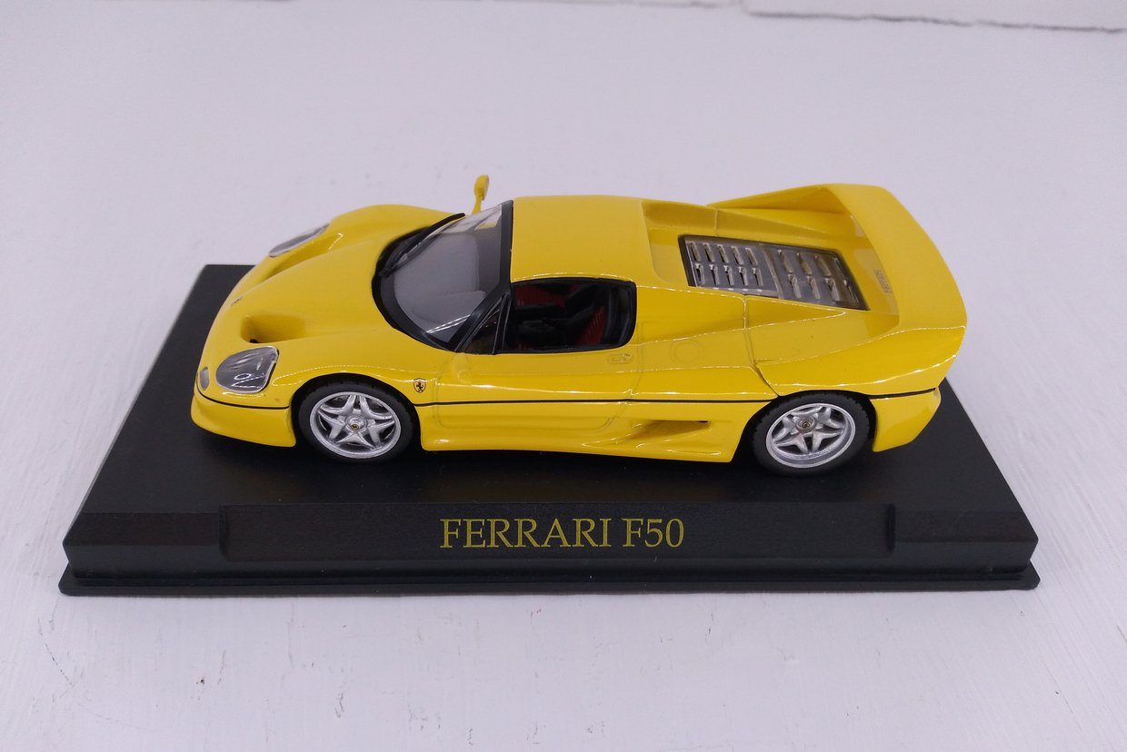 Collection of 80 Ferrari models