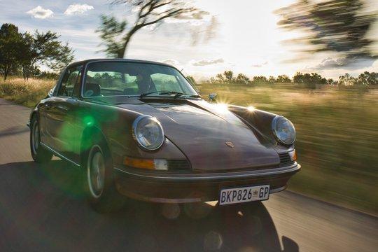 Live Online Auction: 1973 Porsche 911T Targa