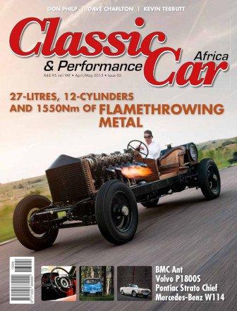 April – May 2013 Publication | Classic Car Africa