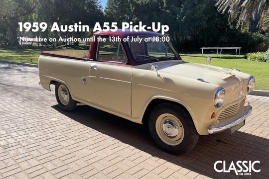 For Sale: 1959 Austin A55 Pick-up
