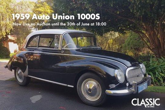 For Sale: 1959 Auto Union 1000S