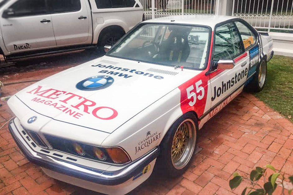 BMW 635CSi Race Car