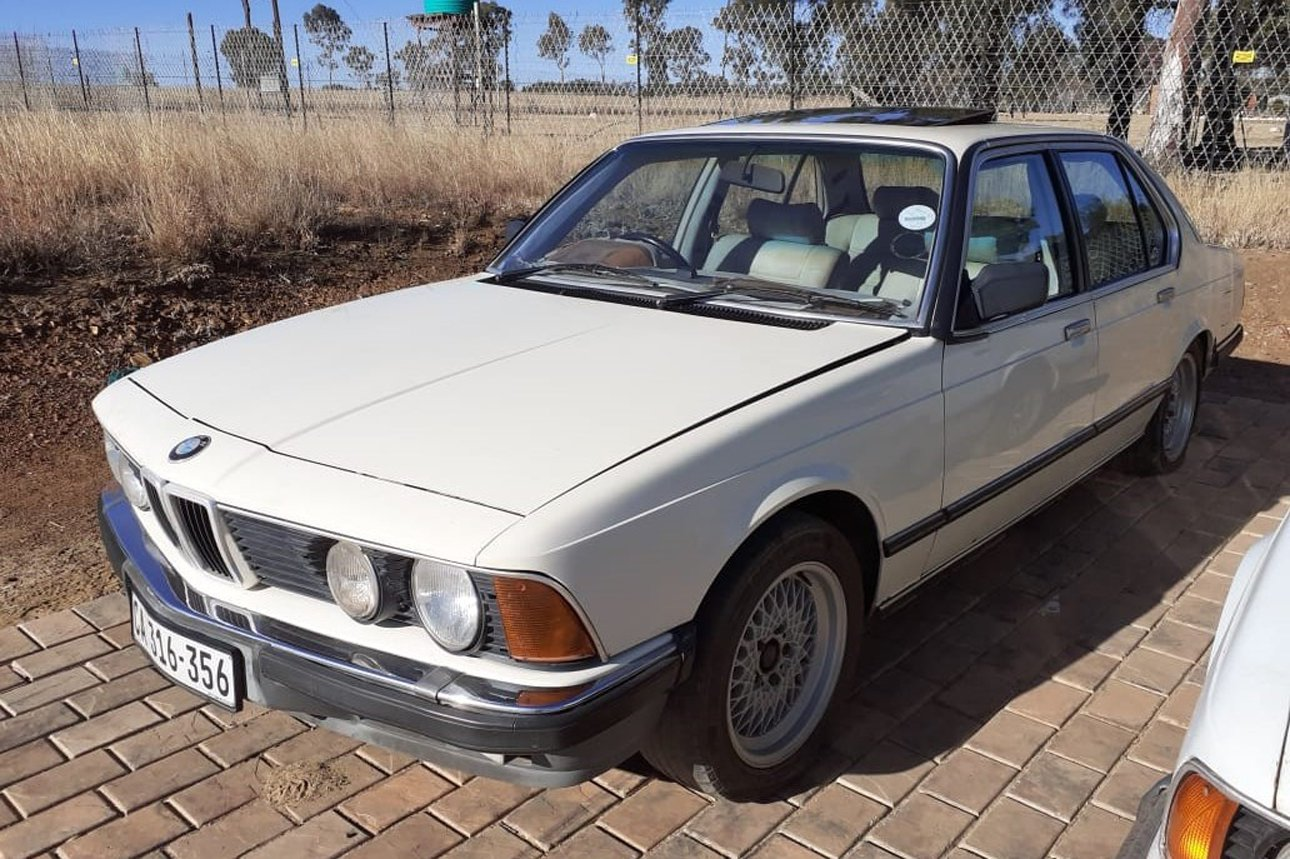 BMW 745i Project Car (plus 728i donor vehicle)