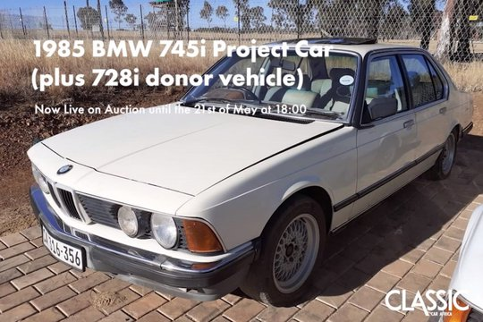 Sold: 1985 BMW 745i & 728i (Project car and donor)