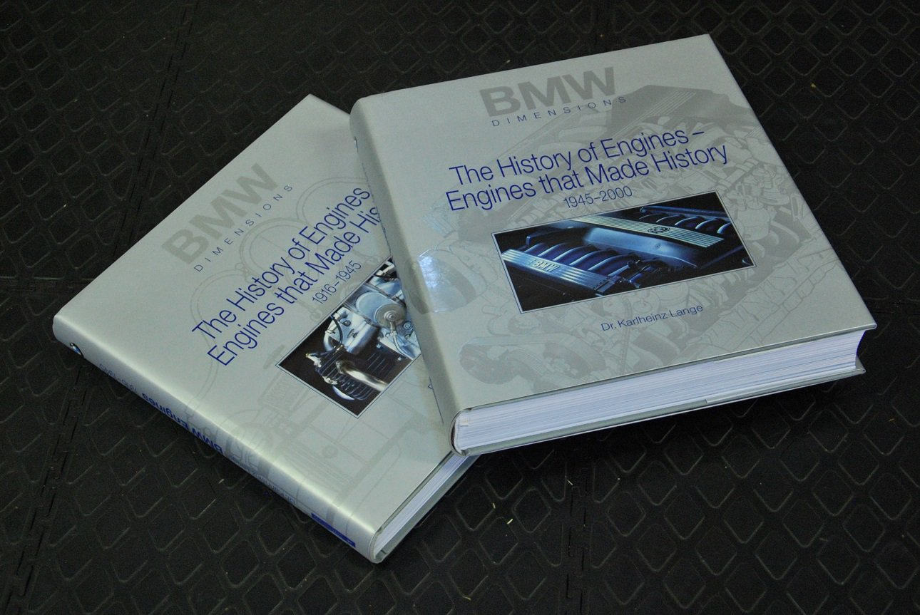BMW Dimensions The History of Engines - Engines That Made History (2vols)