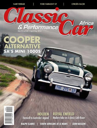 April - May 2014 Publication | Classic Car Africa