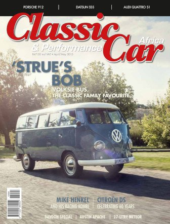 April - May 2015 Publication | Classic Car Africa