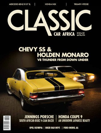 April - May 2016 Publication | Classic Car Africa