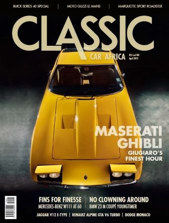 April 2019 Publication | Classic Car Africa