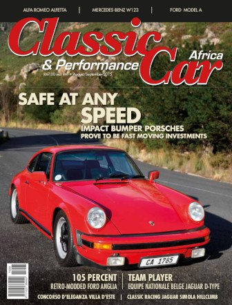 August - September 2015 Publication | Classic Car Africa