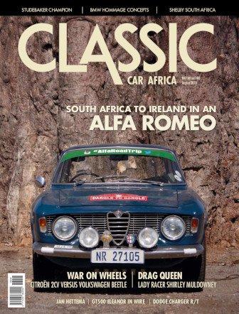 August 2016 Publication | Classic Car Africa