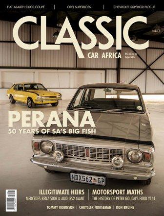 August 2017 Publication | Classic Car Africa