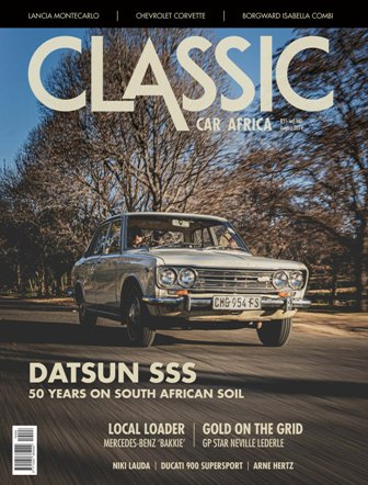 August 2019 Publication | Classic Car Africa