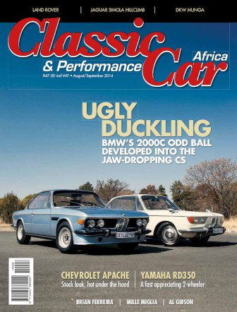 August - September 2014 Publication | Classic Car Africa
