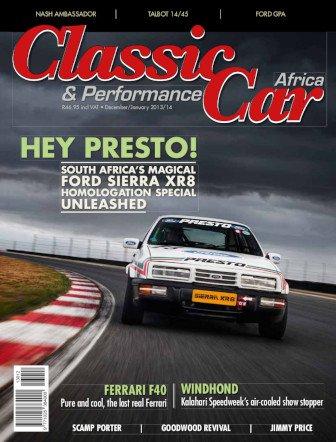 December - January 2013 - 2014 Publication | Classic Car Africa