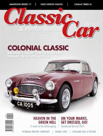 December - January 2014 - 2015 Publication | Classic Car Africa