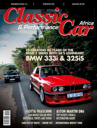 December - January 2015 - 2016 Publication | Classic Car Africa