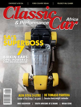 February - March 2014 Publication | Classic Car Africa