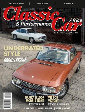 February – March 2015 Publication | Classic Car Africa