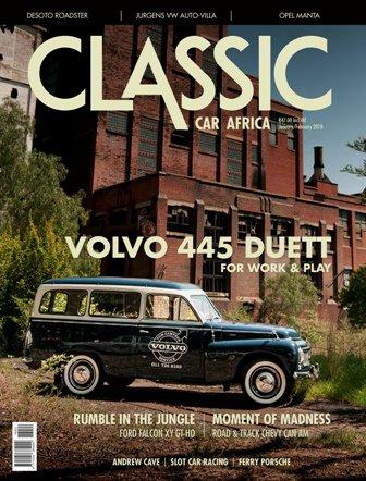 January -February 2018 Publication | Classic Car Africa