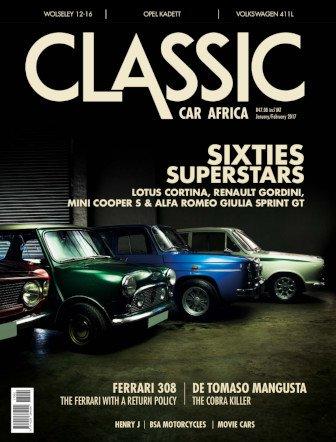 December - January 2016 - 2017 Publication | Classic Car Africa