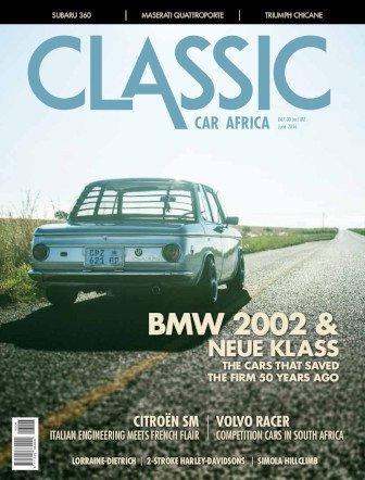 June 2016 Publication | Classic Car Africa
