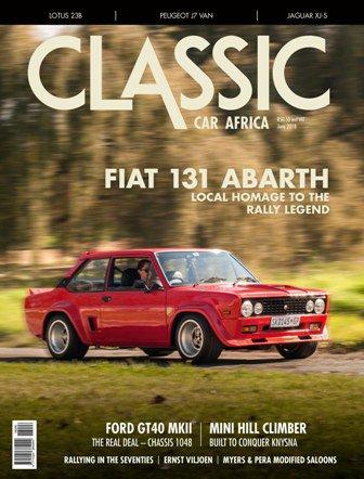 June 2018 Publication | Classic Car Africa