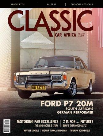 June 2019 Publication | Classic Car Africa