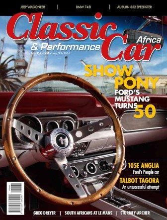 June - July 2014 Publication | Classic Car Africa