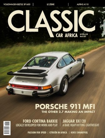 March 2017 Publication | Classic Car Africa