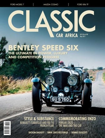 May 2017 Publication | Classic Car Africa