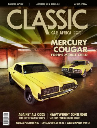 May 2018 Publication | Classic Car Africa