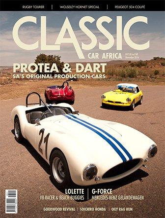 November 2016 Publication   Classic Car Africa