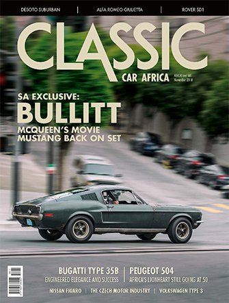 November 2018 Publication | Classic Car Africa