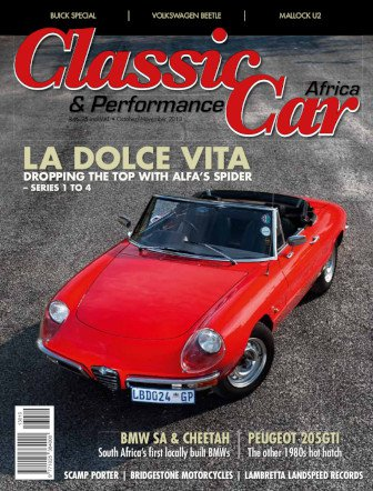 October - November 2013 Publication | Classic Car Africa