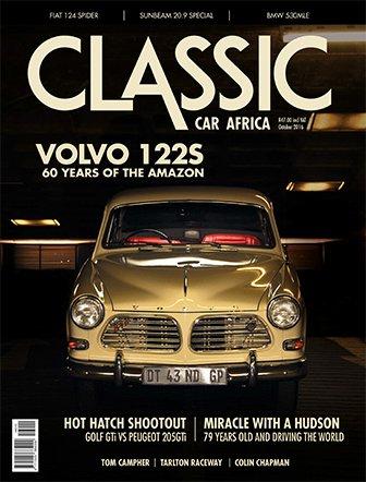 October 2016 Publication | Classic Car Africa
