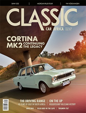 October 2018 Publication | Classic Car Africa