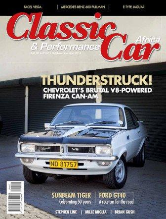 October - November 2014 Publication | Classic Car Africa