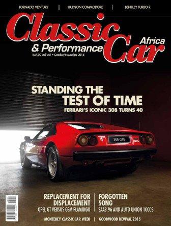 October - November 2015 Publication | Classic Car Africa