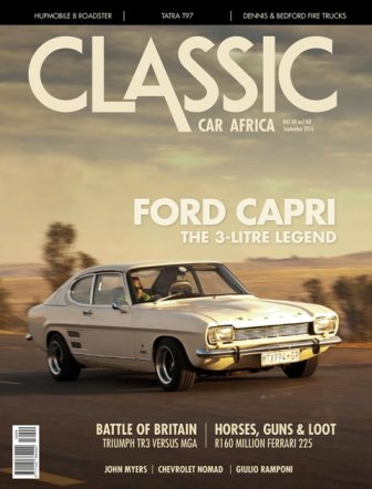 September 2016 Publication | Classic Car Africa