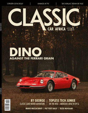 September 2017 Publication | Classic Car Africa