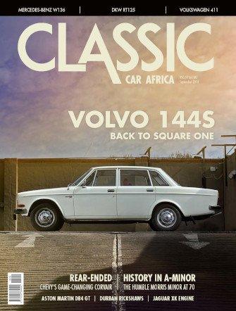 September 2018 Publication | Classic Car Africa