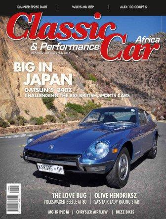 June - July 2015 Publication | Classic Car Africa