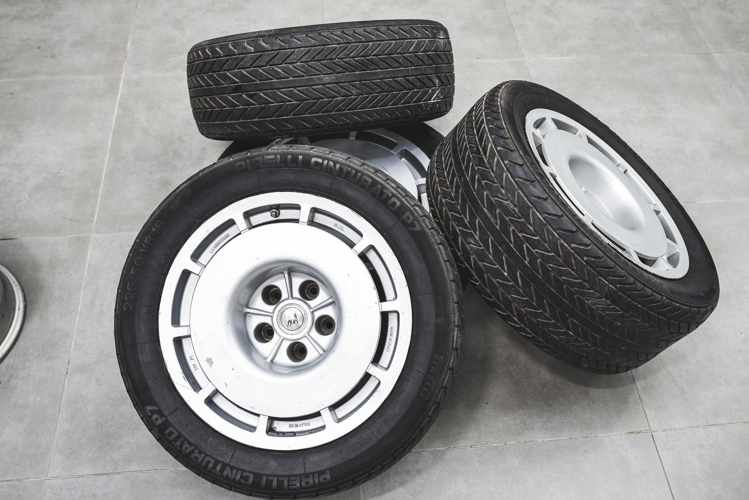 Set of 4 rims - Lamborghini Jalpa