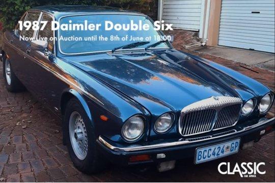For sale: 1987 Daimler Double Six