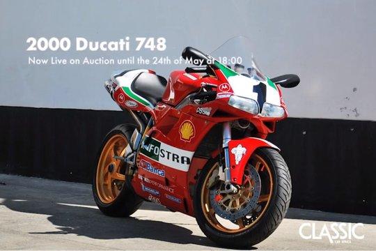 For sale: 2000 Ducati 748