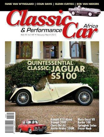February – March 2013 Publication | Classic Car Africa