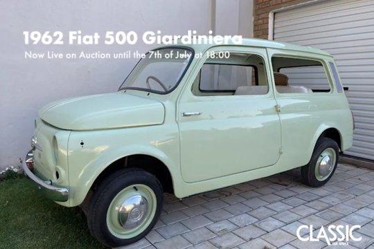 For Sale: 1962 Fiat 500 Giardiniera