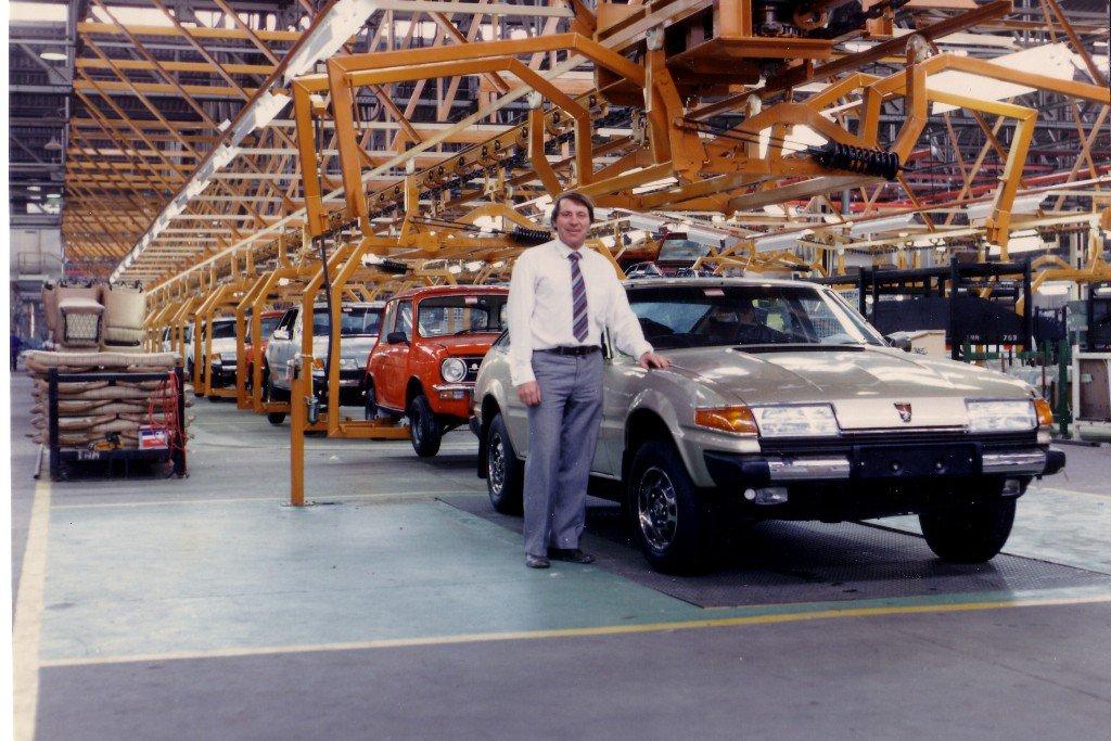 John and Rover SD1 at Leyland.JPG