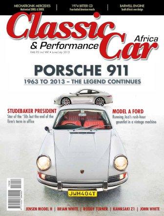 June - July 2013 Publication | Classic Car Africa